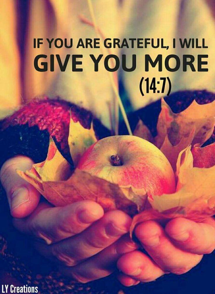 Always be grateful ✊