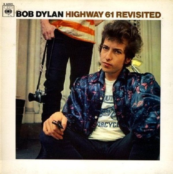 Bob Dylan Highway 61 Revisited vinyl LP Repress nethelands Mint Condition