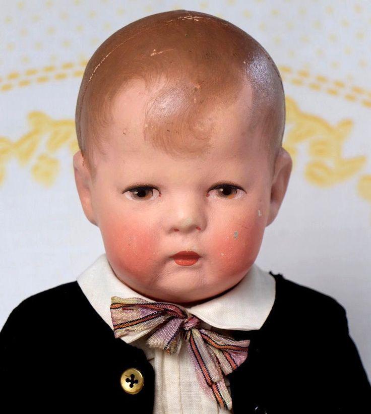 Käthe Kruse Puppe VII schmale Hüfte unrestaurierte Puppe1 angen.Kopf 35cm 30ig.J | eBay