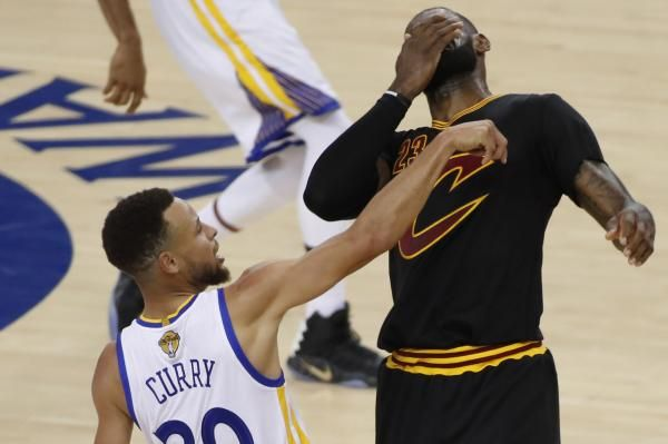 While most of society would be elated with a $201 million salary, LeBron James thinks Stephen Curry should get more.