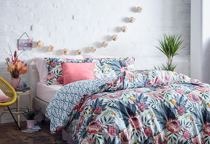 Brighten up your bedroom with these pattered beauties!