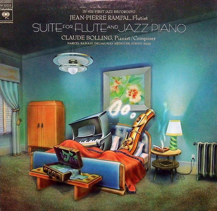 Vintage Vinyl Lp Record Album Suite For Flute And Jazz