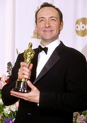 """Kevin Spacey 2 Oscars Best Actor """" American Beauty"""" Oscar 1999 Best Supporting Actor """"Usual Suspects"""" 1995"""