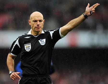 Top referee - Howard Webb
