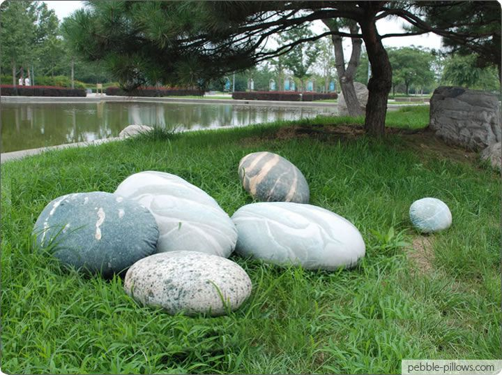 River Rock Floor Pillows : 37 best images about Home - Living Stones on Pinterest River rocks, Furniture and French ...