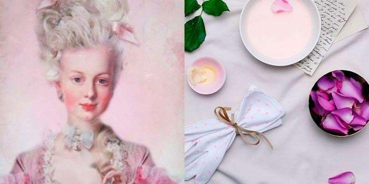La lujosa rutina de belleza de María Antonieta