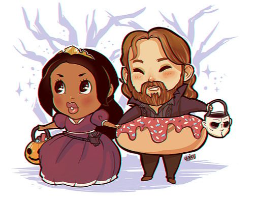 Sleepy Hollow-een. CUTE OVERLOAD