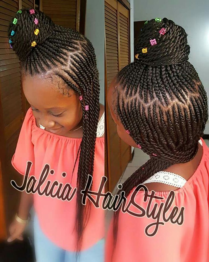 Braided Hairstyles For Kids Inspiration 147 Best Hairstyles For Te' Images On Pinterest  Black Girls