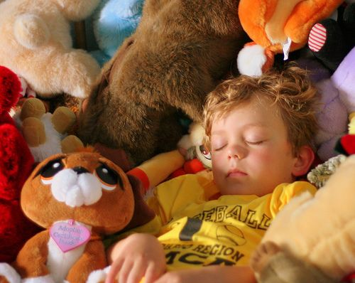 What happened to nap time? Simple tips for establishing quiet times when toddlers (and older children) no longer want to nap.