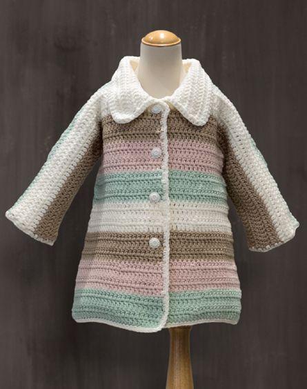 Passioknit Slumberland Crochet Swing Coat Child Crochet ideas Pinterest ...
