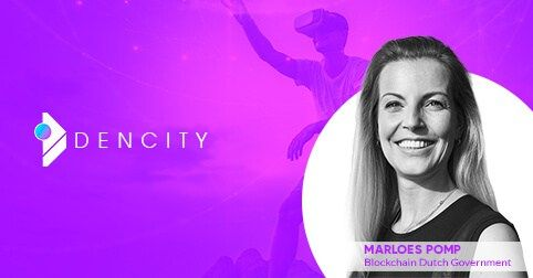 Marloes Pomp Head of Blockchain Projects for Dutch Government Joins the DenCitys Advisory Board