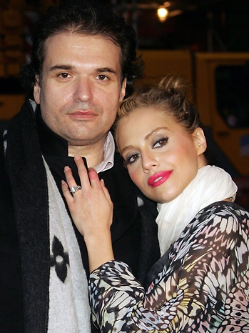 Brittany Murphy and Simon Monjack