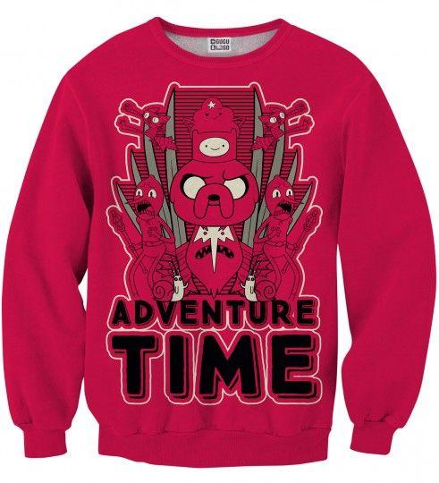 Bluza ze wzorem adventure throne Miniatury 1