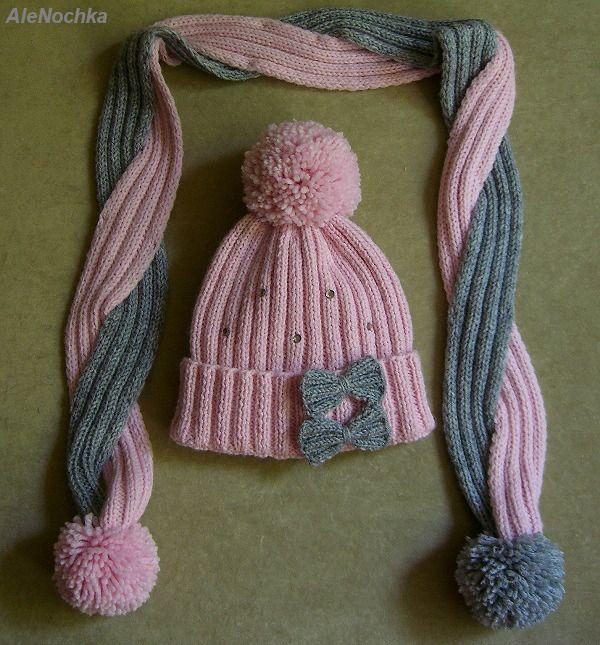 1Мои работы девочкам:шапочки, шарфики, комплекты 1Мои работы девочкам:шапочки, шарфики, комплекты #309