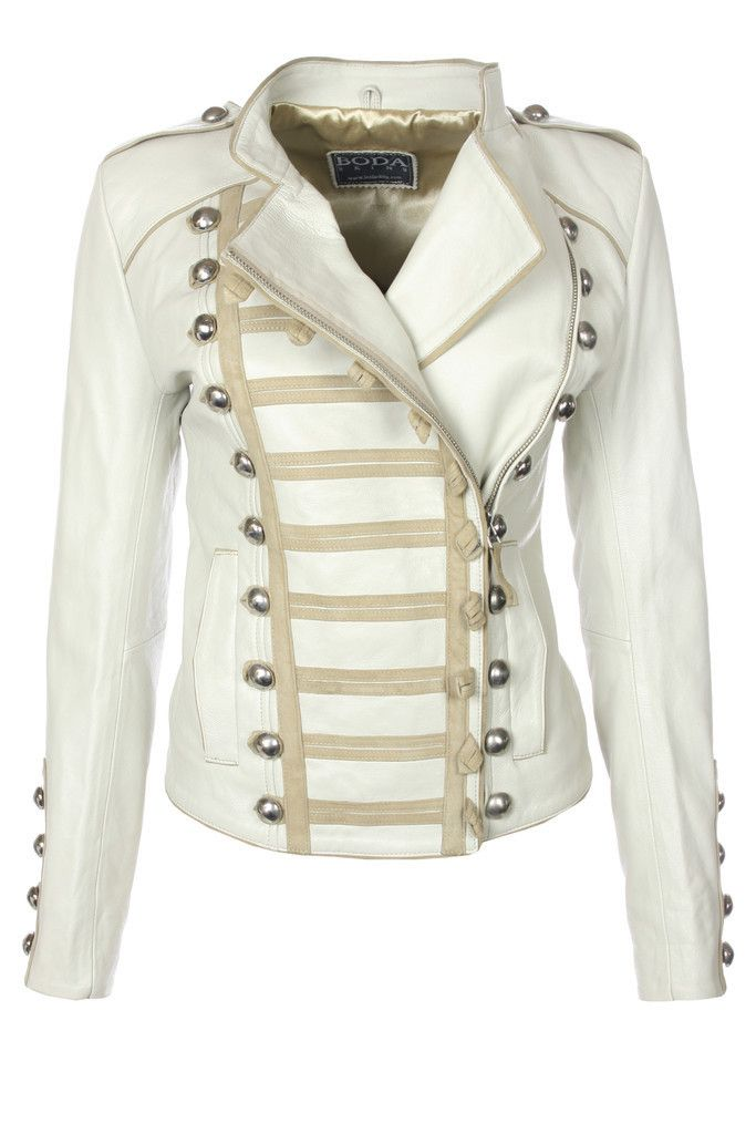 Napoleon (Platinum Grey) – Leather Jackets, Mens, Womens Biker & Military Leather Jackets
