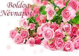 Rózsás névnapi köszöntő