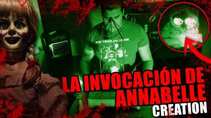 La INVOCACIÓN de ANNABELLE CREATION | La dimensión ASTRAL - YouTube