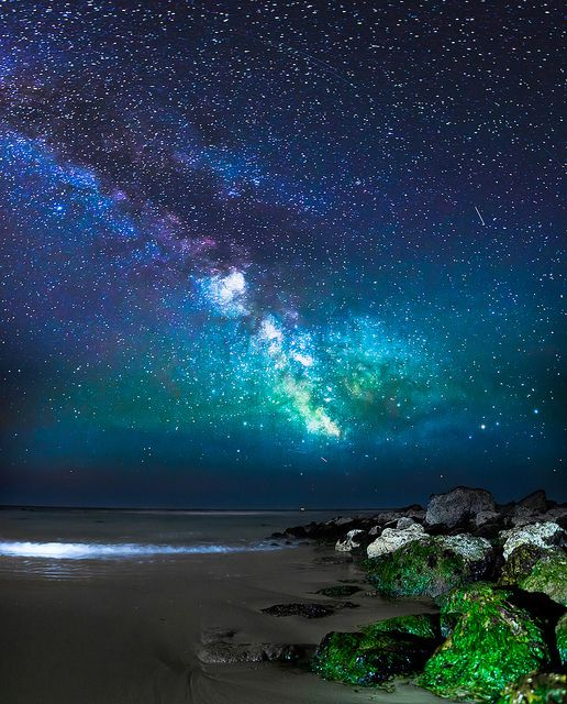 Colors of the Milky Way.