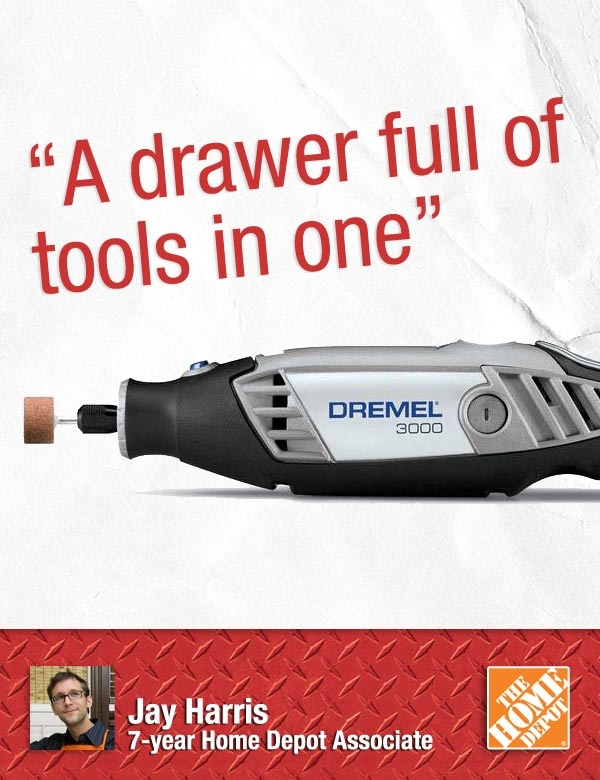 """""""A Dremel is an awesome gift for that guy or gal who likes to work on small home improvements or crafts,"""" says Jay. Customers who have Dremel sets tell us they can't imagine life without a Dremel.    Dremel Rotary Tool Kit $69.00"""