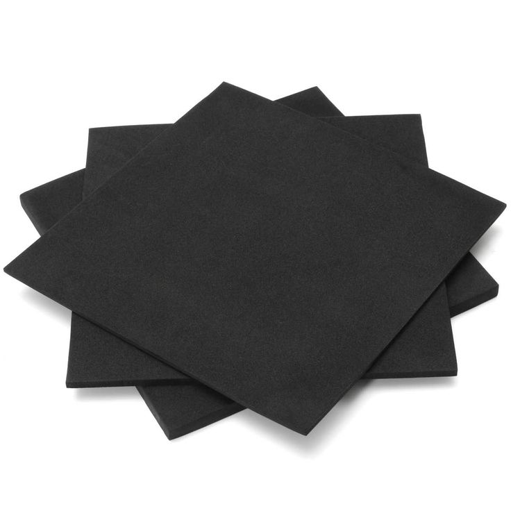"Description: 	ESD Antistatic Pin Insertion High Density Foam is easy to hot-pressing, 	cutting, coating, laminating, easy to shape. 	Specifications: 	Material: EVA(Ethylene Vinyl Acetate) 	Color: Black 	Size: 200*200mm/7.87*7.87"" 	Thickness: 3mm/0.12, 5mm/0.20"",..."