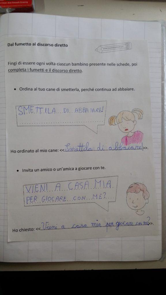 Classe 2a Diario Di Bordo Maestra Carmelina Ortografia Ordine Alfabetico Grammatica