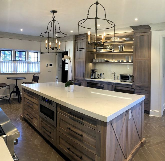 Kitchen Renovation with Grey Stained Oak Cabinets - Home ...