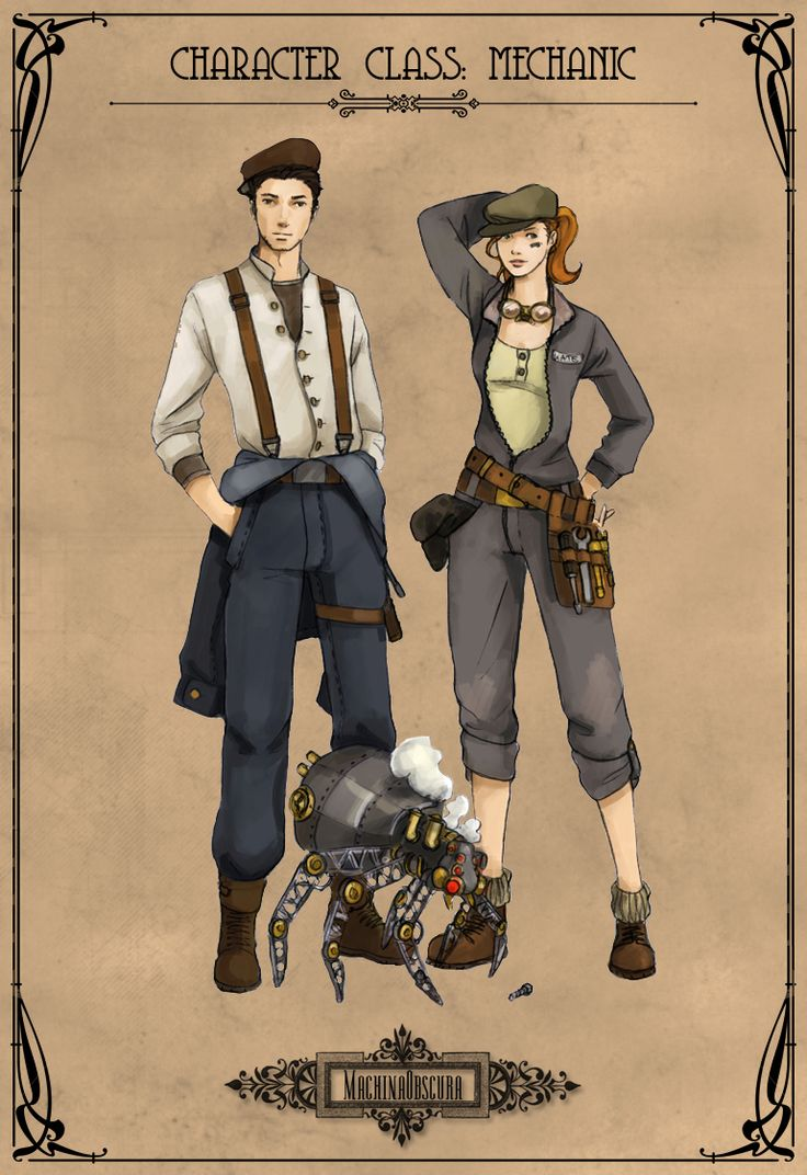 15 best Steampunk Archetypes images on Pinterest ...