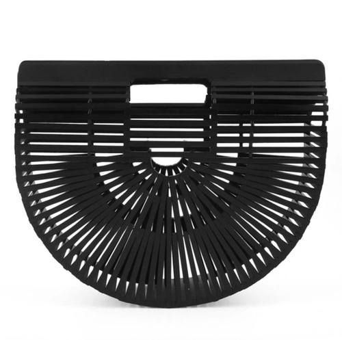 BAMBOO CLUTCH BAG (BLACK)  www.minimalistjewellery.com.au    #minimalistjewelry #minimalistjewellery #minimalist #jewellery #jewelry  #jewelleries #jewelries #minimalistaccessories #bangles #bracelets #rings  #necklace #earrings #womensaccessories #accessories