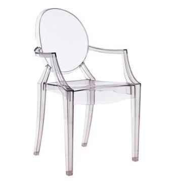 319 zł krzesło insp projektem louis ghost
