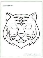 12 best Free Printable Animal Masks (Templates) images on