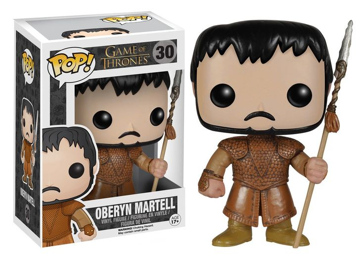 Oberyn the Red Viper of Dorne is here in Pop! format.