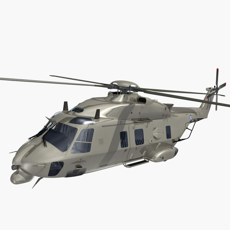 Dxf Nhindustries Helicopter Hellenic Army - 3D Model