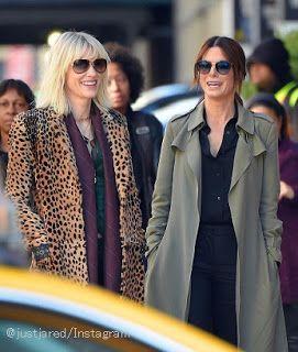 海外セレブニュース&ファッションスナップ: 【サンドラ・ブロック】かっこよすぎ!女性版『オーシャンズ8』の撮影が開始され、サンドラとケイト・ブラ...