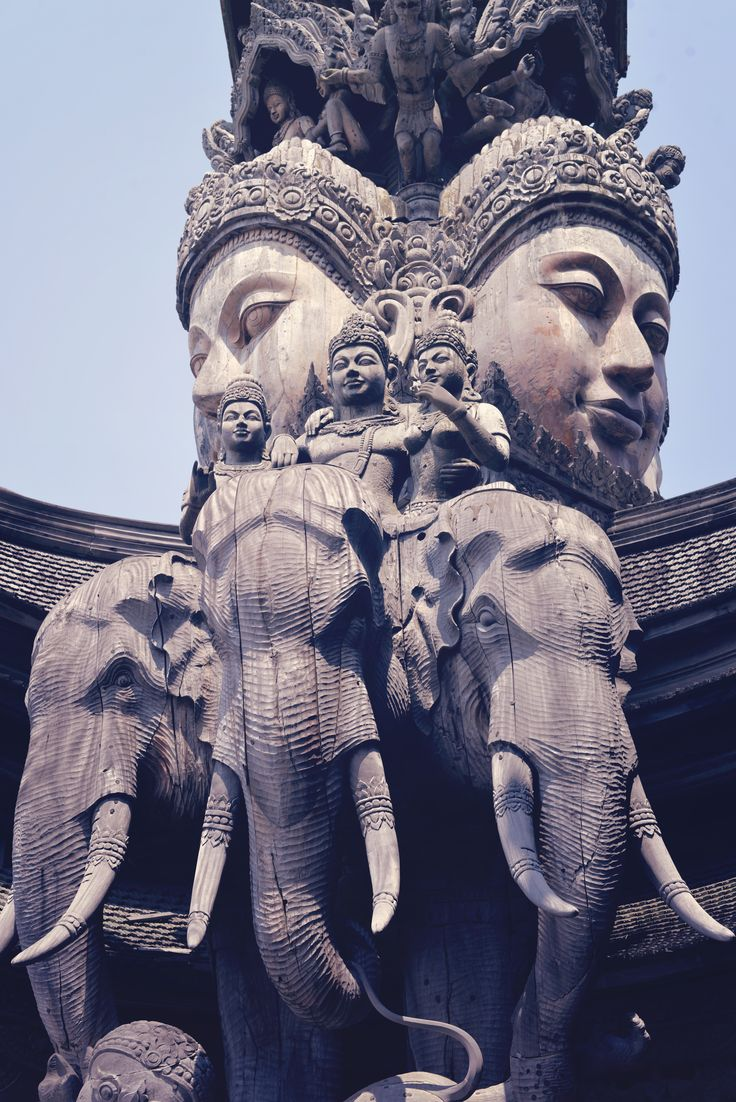 wooden Sanctuary of Truth | Pattaya | Thailand