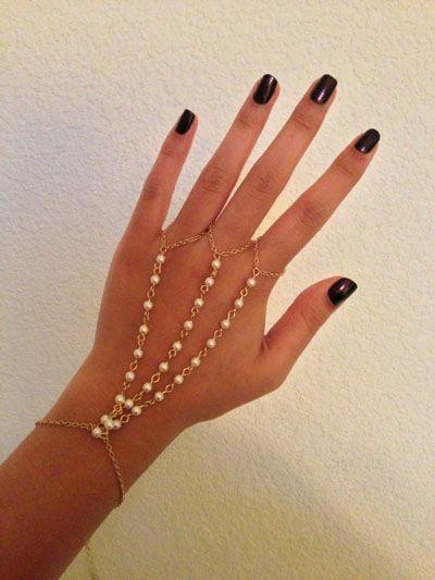 браслеты из цепочек своими руками