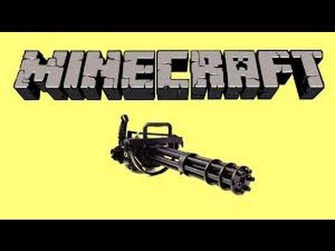 How to Make a Minigun in Minecraft(PS3,Xbox,PC) - YouTube