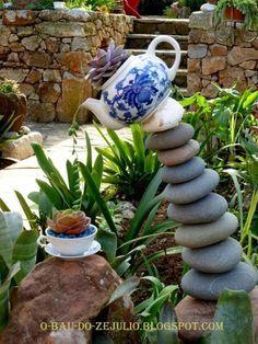 Pedras, Plantas e Companhia: 5 o'clock tea in Catita