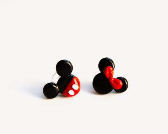 The cutest earrings...perfect for my Disney trip!  Book today! T.Boyd@magicalvacationpanner.com (757) 296-7343