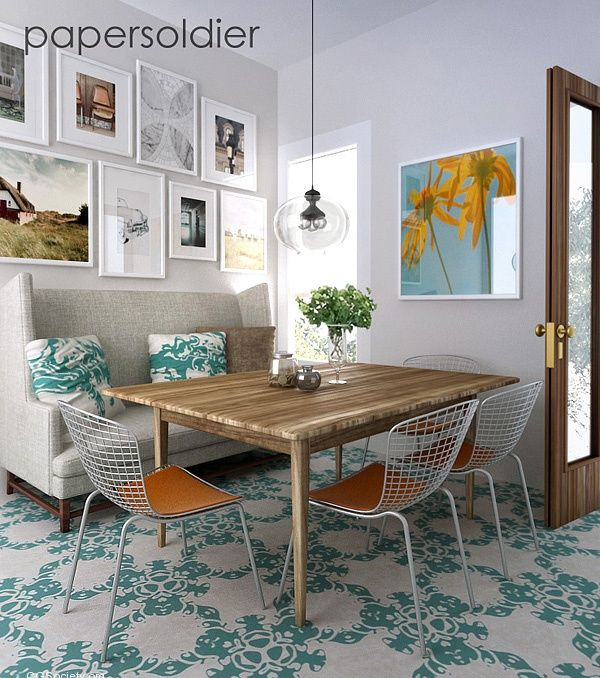 Freestanding Banquette Seating: 17 Best F R A M E D Images On Pinterest
