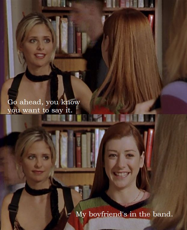Buffy and Willow from Buffy the Vampire Slayer.