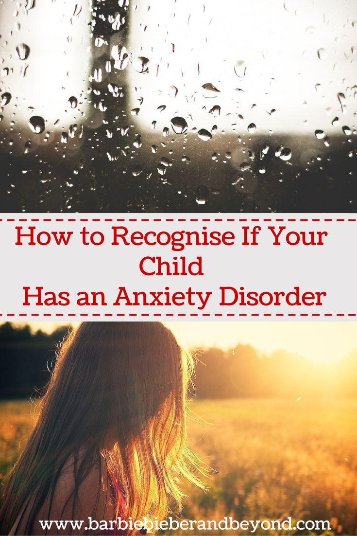 Anxiety Disorders In Children. This is so important to be aware of.