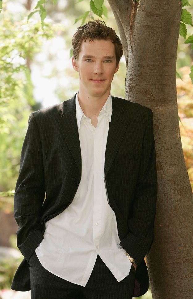 Even with a crumpled shirt, he's still a fox. | 25 Things That Prove Benedict Cumberbatch Is The Perfect Man