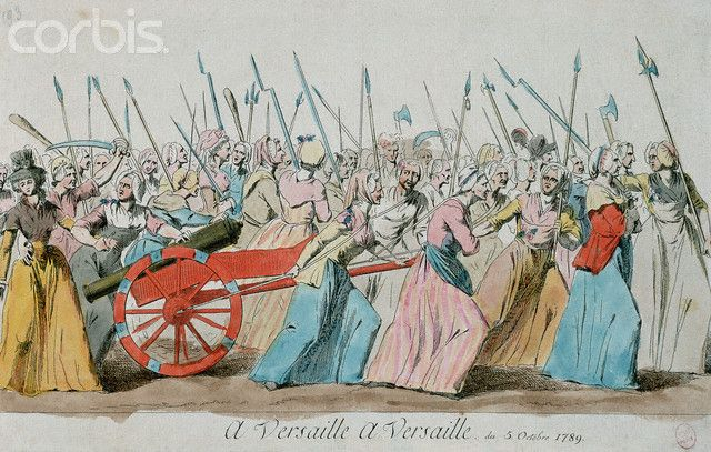 women's march on versailles