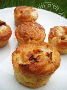 Mini muffins tomate séché et chèvre