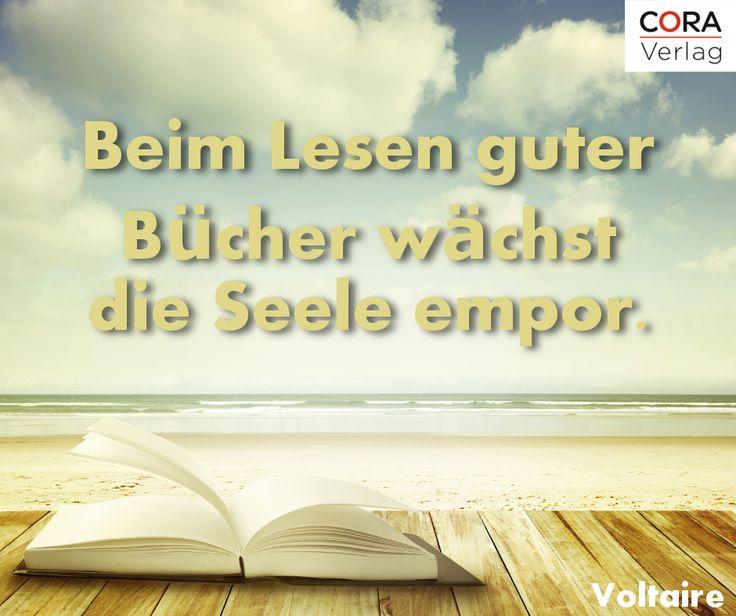 #lesen #zitat #buch #voltaire #coraverlag