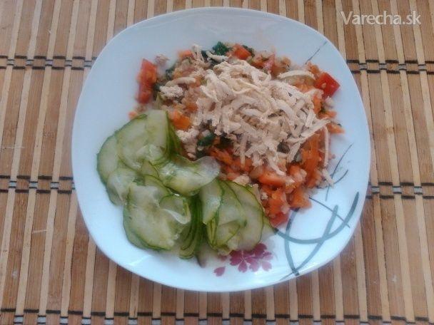 Pohánkovo-zeleninové rizoto