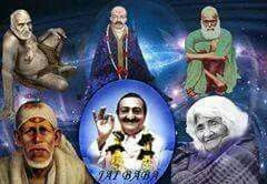 Baba and 5 Perfect Masters