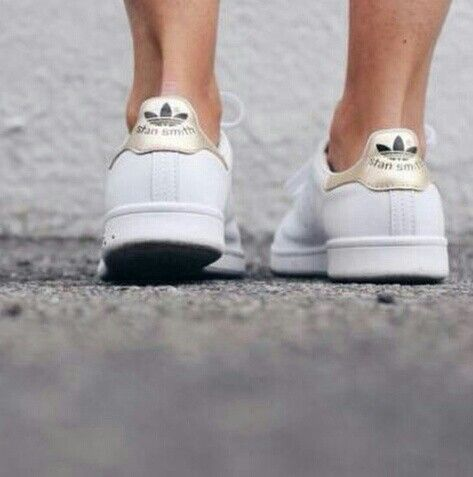 Adidas Stan Smith Gold White