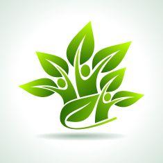 environmental idea vector art illustration
