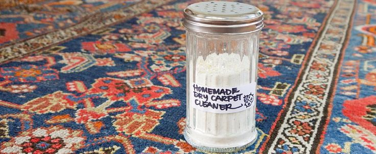Homemade Dry Carpet Cleaner (2c baking soda, 1/2c cornstarch, 1/2c cornmeal, 4 bay leaves, 1T whole cloves, 1T Borax. Pulverize it in the Vitamix. Sprinkle on carpet then, 2 hours later, vacuum.)